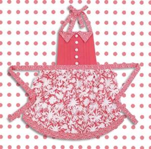 Petal Parade Posh Pink Apron